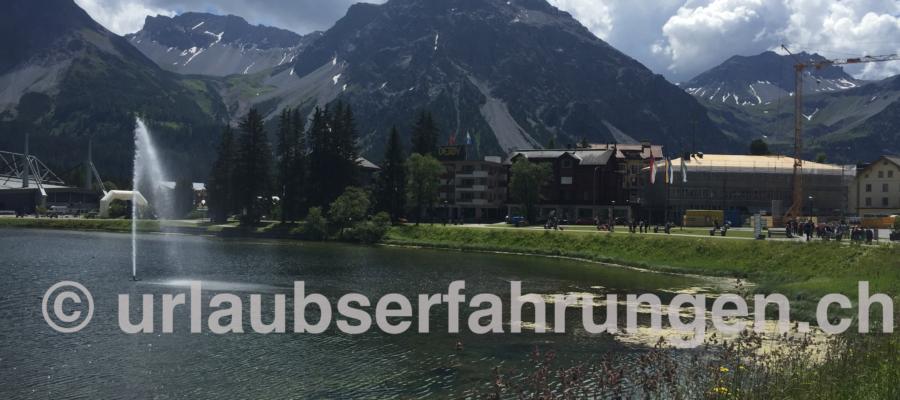 Hotel Altein Arosa, Obersee