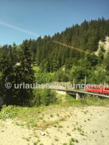 Rhätische Bahn nach Arosa
