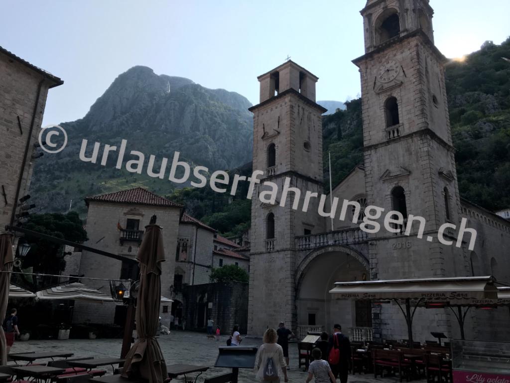 Kotor in Montenegro, unser Reisebericht auf urlaubserfahrungen.ch