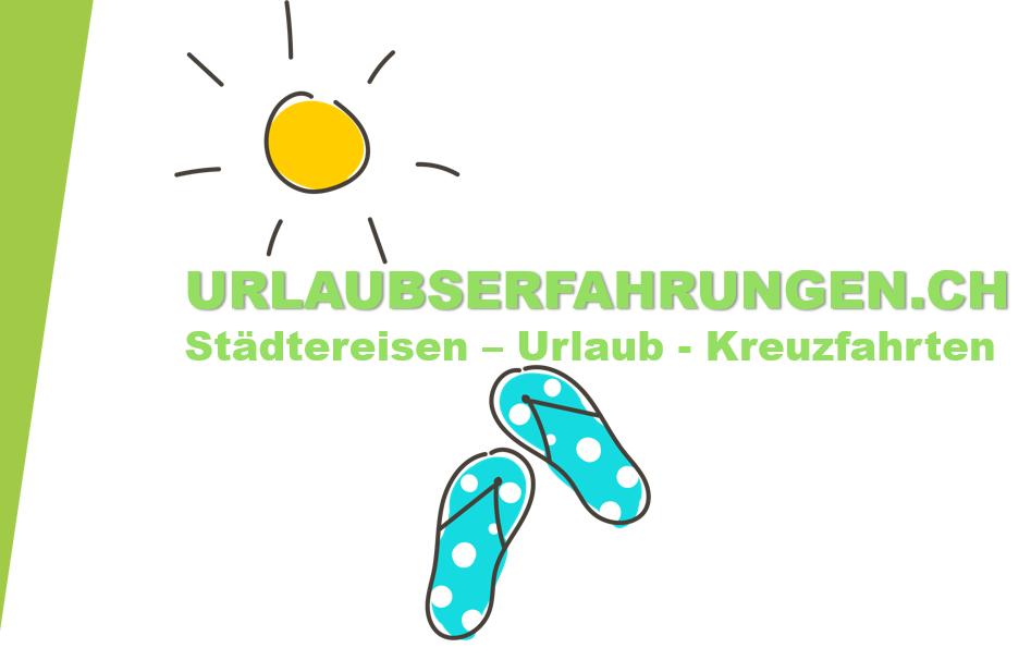 Reiseberichte von Urlaubserfahrungen.ch - Unser Logo