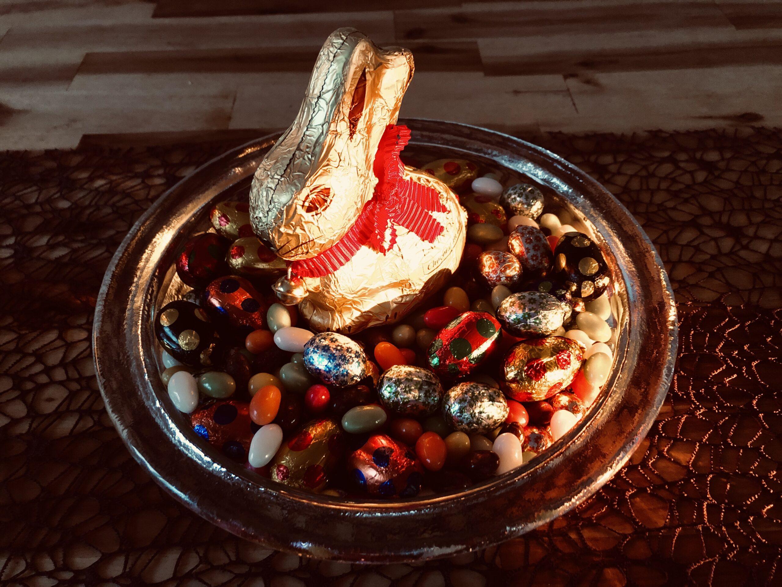 easterbunny in Eastereggs #stayathome #bleibdaheim