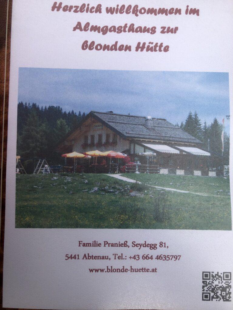 Blonde Hüttn, Postalm