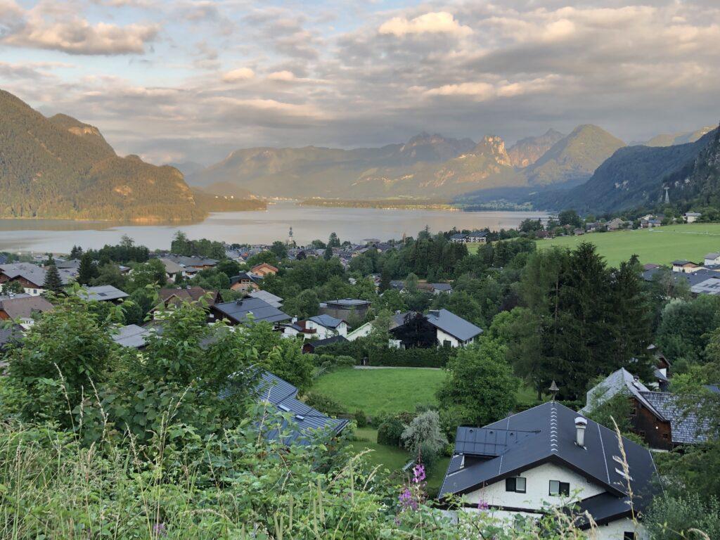 Blick auf den St. Wolfgangsee von St. Gilgen aus