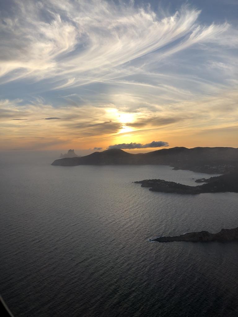 Flug von Ibiza / Eivissa nach Hause